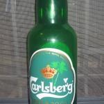 Botella de cerveza plastico