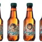 Cerveza en botella plastica de PET