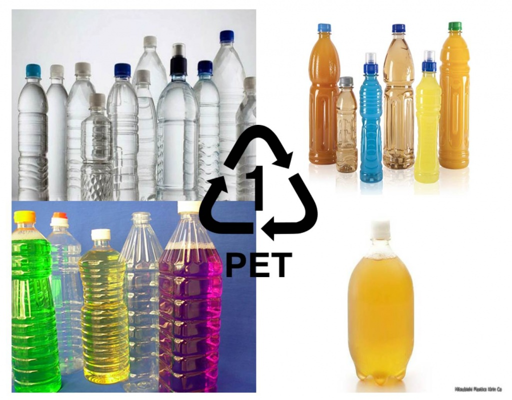 Productos elaborados con PET