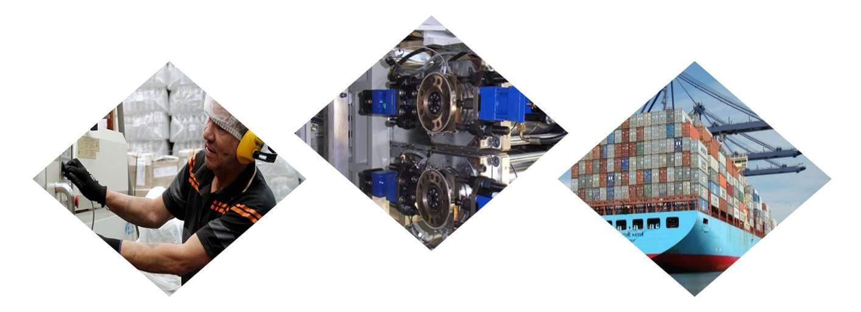 Envio de repuestos para maquinas industriales