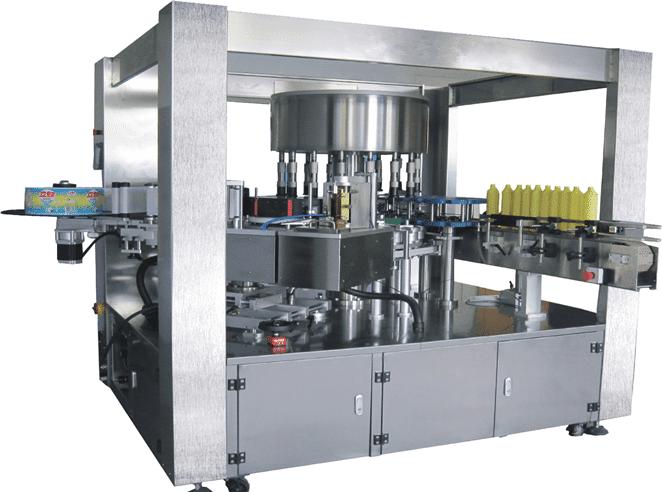 Maquina automática para etiqueta Hot Glue OPP R100